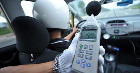 车噪音测试_噪音检测噪声噪音测试区域噪声敏感点噪声图