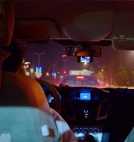 车主评新福克斯夜间行车驾驶感受