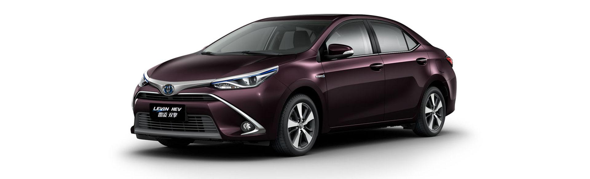 广汽丰田雷凌双擎(雷凌混动版)车型于10月29日正式