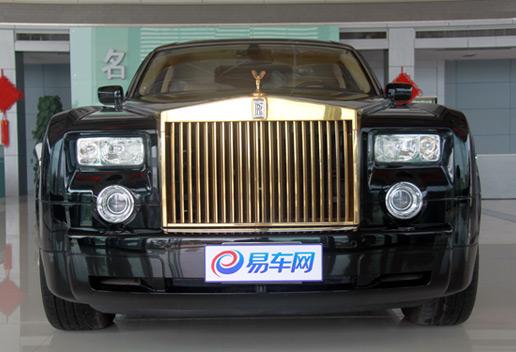 亚洲最为奢华座驾——3000万元劳斯莱斯加长版幻影降临郑州.
